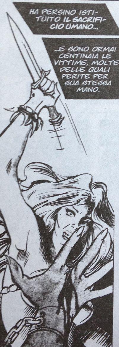 Who said that the captions have to rectangular? --------- chi ha detto che le didascalie devono essere rettangolari? --------- Conan (John Buscema) #comics #fumetto #conanthebarbarian