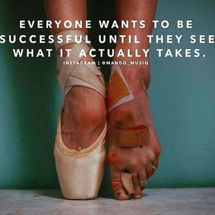 #Success - no one said it would be easy, just that it would be worth it