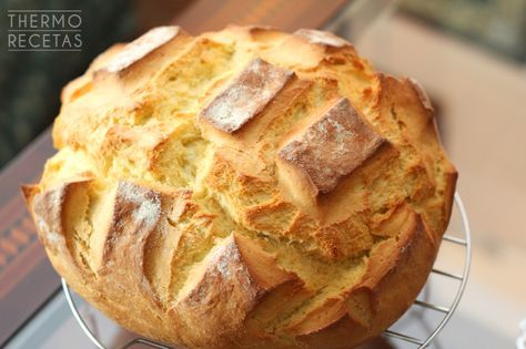 Pan rápido de naranja - http://www.thermorecetas.com/pan-rapido-de-naranja/