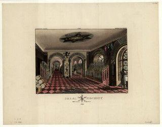 Dietrich, Fryderyk (1779-1847): Sala piechoty = Salle d'Infanterie   #PMA #Muzeum #Museum #Dietrich #Arsenał #Warszawa #Warsaw #State #Archaeological #Museum #vintage