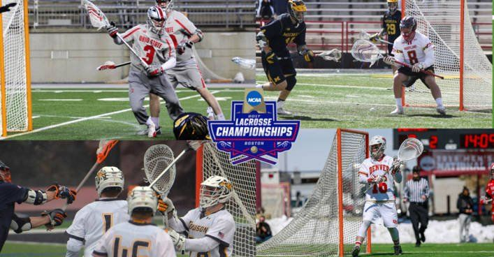 Power ranking the 4 remaining lacrosse goalies of the 2017 NCAA tournament. Ohio St. Tom Carey, Maryland Dan Morris, Towson Matt Hoy, and Denver Alex Ready.