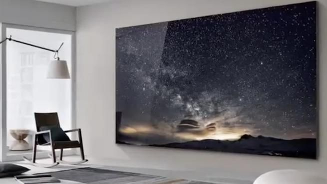 Samsung Debuts Massive 219 Inch Tv Called The Wall At Ces Tvs