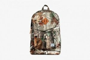 Herschel Supply Co. revealed a sleek collaboration with hunting staple print Real Tree Camouflage for their Fall 2013 collection.