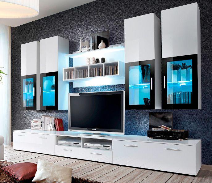 459 best Salons Modernes images on Pinterest | Living room wall ...