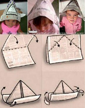 Hoy vamos a ver como hacer el típico gorro de papel. Se puede hacer con papel de periódico o con cartulina de colores. Una manualidad super fácil ideal para los mas pequeños de la casa. Veréis que con este simple...