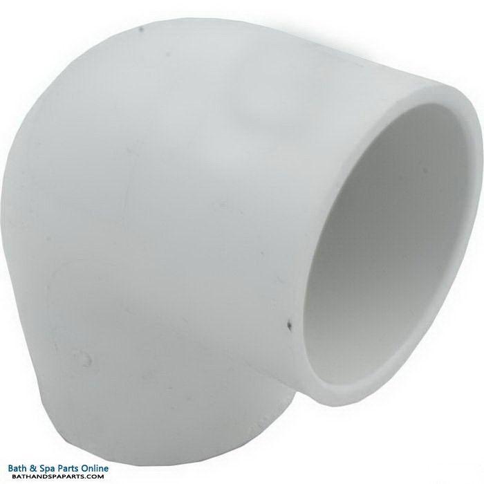 "Lasco SCH40 90 Degree PVC Elbow [2"" Slip x 2"" FPT] (407-020)"