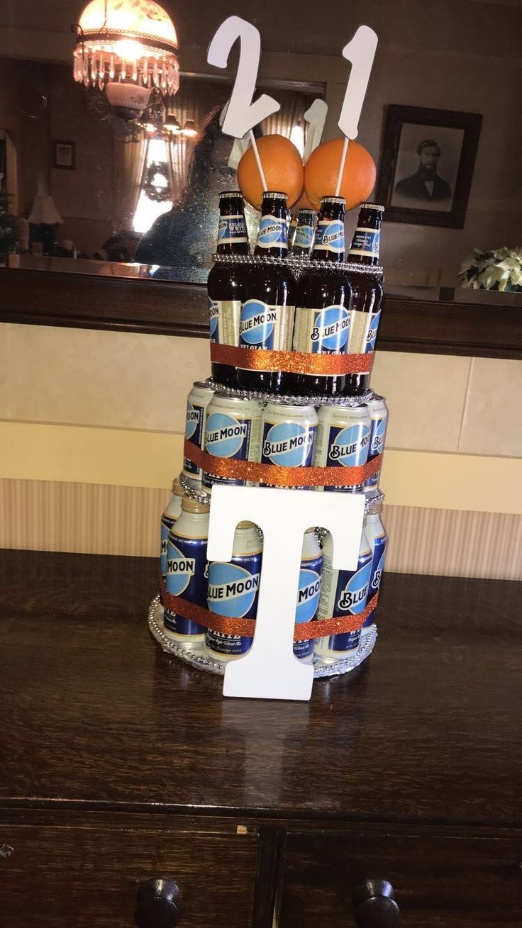 how to make a beer can cake with 24 cans