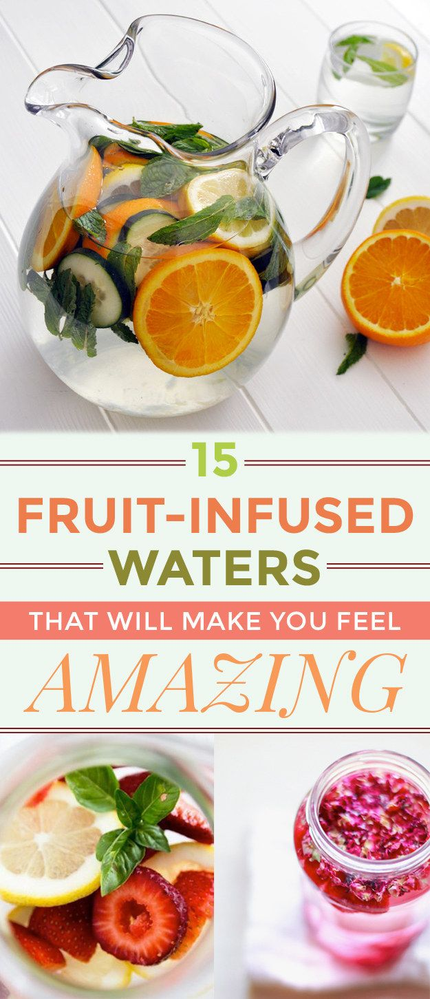 15 Fruit-Infused Waters That Will Make You Feel Amazing