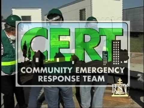 Riverside, CA CERT (Community Emergency Response Team) -- a favorite introduction (abt 4 minutes)