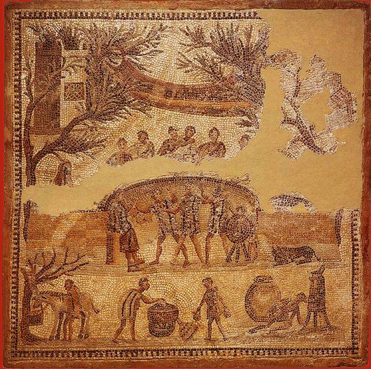 Les 25 meilleures id es concernant mosaique romaine sur - Cuisine de la rome antique ...
