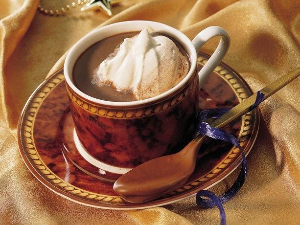 Double-Chocolate Cappuccino Cocoa: Cappuccinos Recipe, Hot Cappuccinos, Double Chocolates Cappuccinos, Chocolates Delight, Cappuccinos Cocoa, Hot Chocolates, Favorite Recipe, Cappuccino Recipe, Doublechocol Cappuccinos