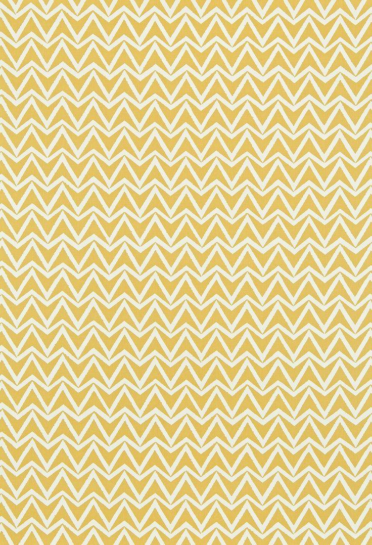 Mustard Design Wallpaper : Dhurrie scion fabrics a simple chevron