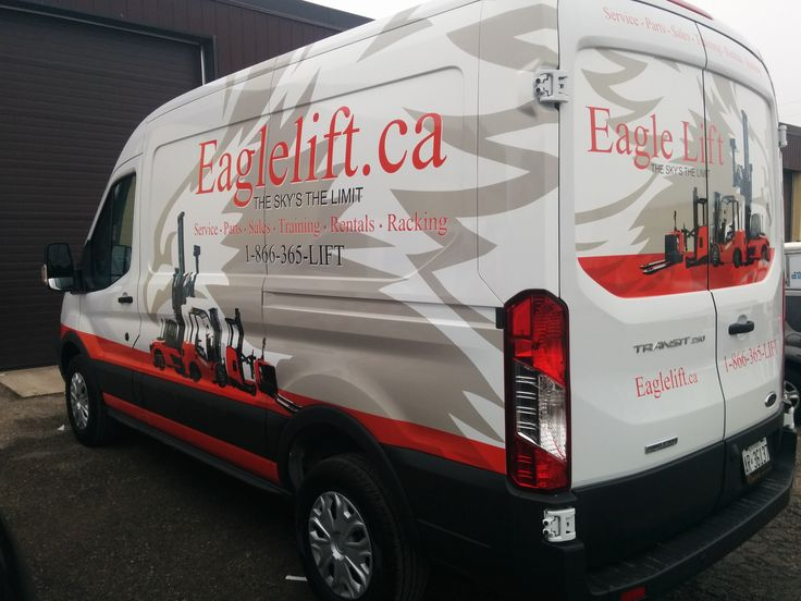 Half Wrap for Eagle Lift | Design, Print & Install by Side Effects Graphics