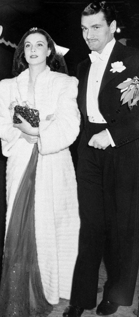 Вивьен Ли с мужем