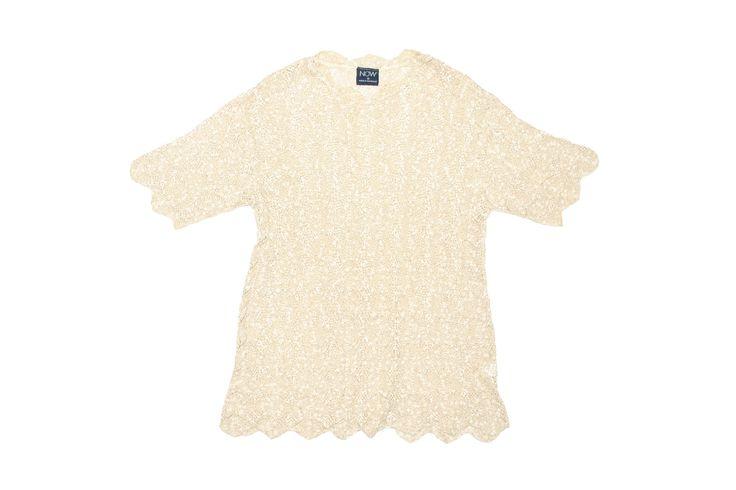 Now Tan Crochet Top