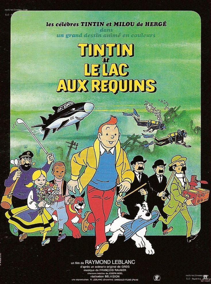 Тинтин и озеро акул (Tintin et le lac aux requins)