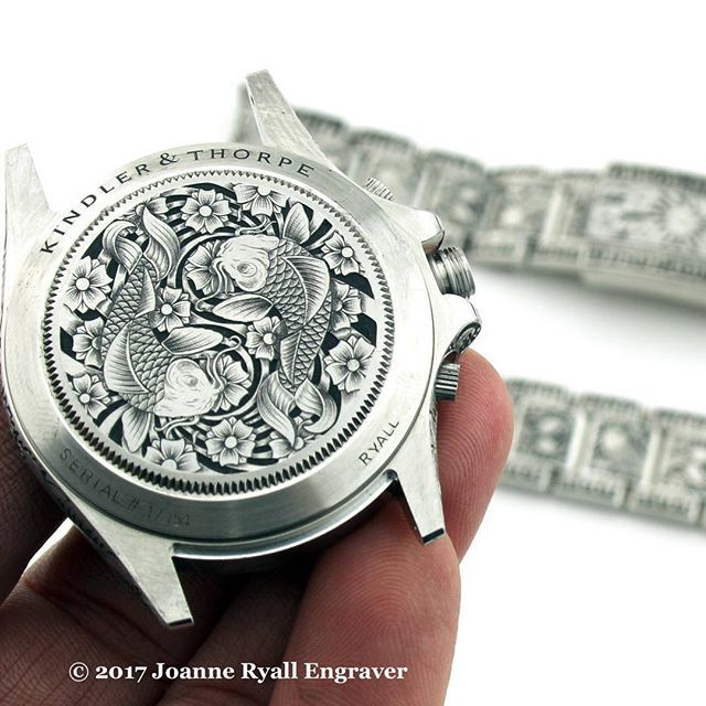 A relatively recent one, but couldn't resist for #throwbackthursday! #RolexDaytona with a #Koi theme...