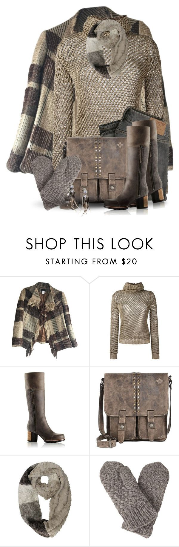 """""""The Sweater"""" by jackie22 ❤ liked on Polyvore featuring ESCADA, Valentino, SOREL, Patricia Nash, Laundromat and Katie Rowland"""