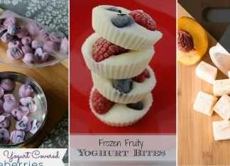Jogurtové mini-zmrzliny – 9 jednoduchých nápadů