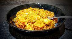 Syn Free Slimming World Sticky Chicken Paella Recipe - Serves 2