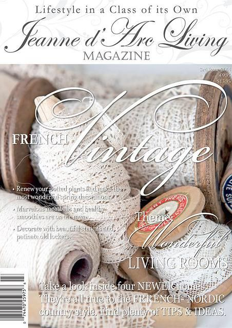 Jeanne d Arc Living Magazine, Books and Products -