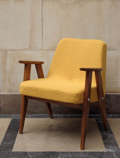 polish design - 366 chair by J.Chierowski