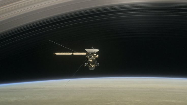 Today, Cassini prepares to once again boldly go where no spacecraft has gone before: into the gap between Saturn and its rings. While we're all excited to see the the results of Cassini's second dive, astronomers are still parsing through the findings from her first. And some, including a soundscape generated from the emptiness, are pretty freaky.