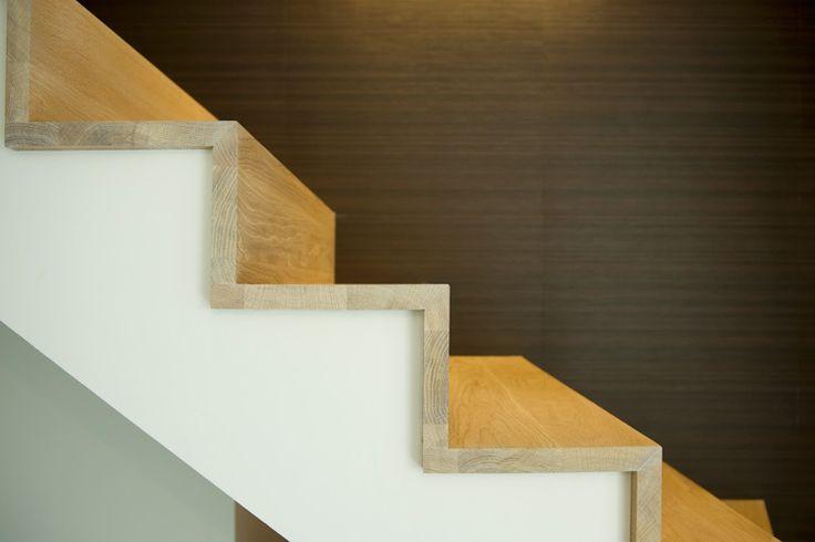 25 beste idee n over moderne trap op pinterest drijvende trap - Moderne trapmodel ...