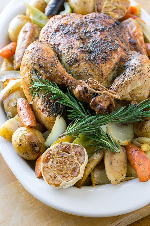 17 Best images about Roasted CHICKEN / DUCK/ CORNISH HEN ...