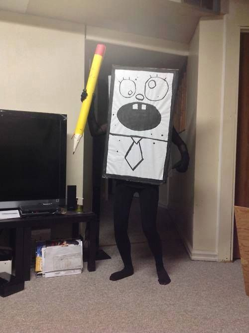 doodlebob costume love this cosplay pinterest