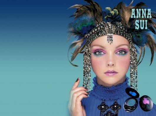 Anna Sui makeup photography