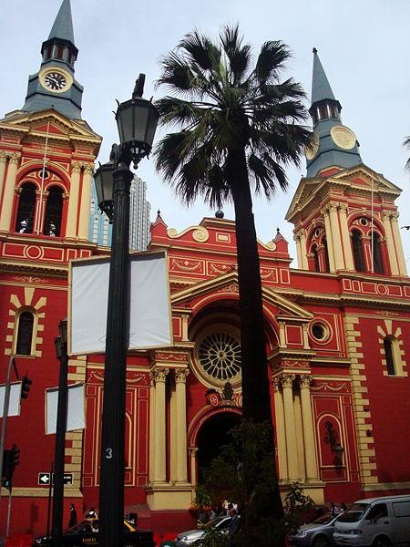 The Basilica de La Merced in Santiago