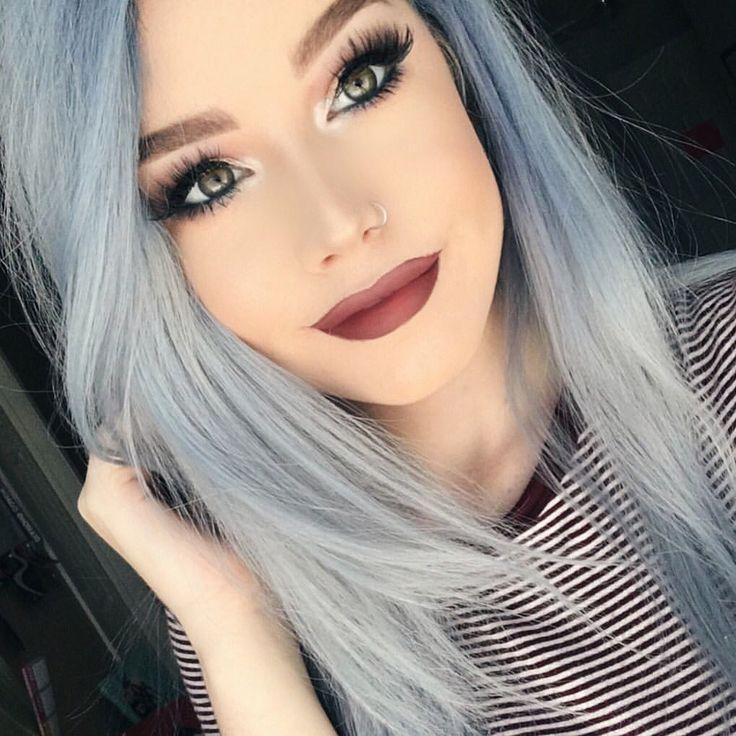 Silver Blue Hair Dye Www Pixshark Com Images Galleries