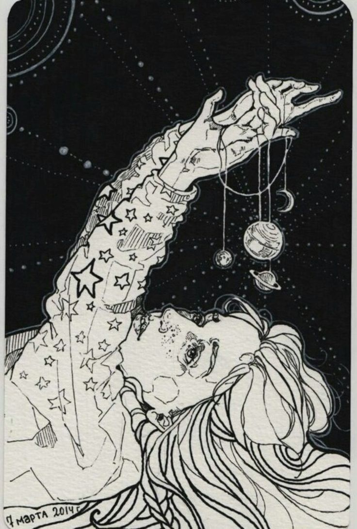 Image result for moon and stars drawing