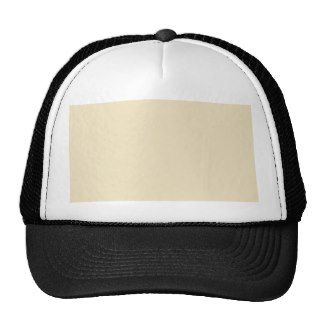 Champagne, Cream Pattern. Chic Fashion Color Trend Hats