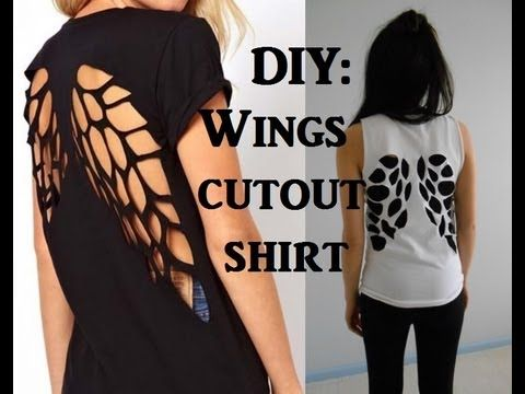 Amazing Cut Out T-shirt - DIY - AllDayChic