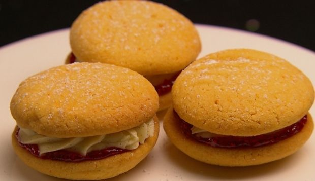 Julia from MasterChef AU Season 4, Melting Moments. I might try this next time with less of a shortbread cookie and more of sugar cookie.