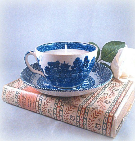 Beautiful blues by Kate Elford on Etsy