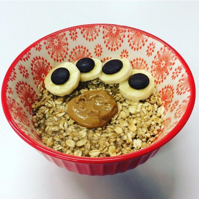 Chunky Monkey Oatmeal Recipe