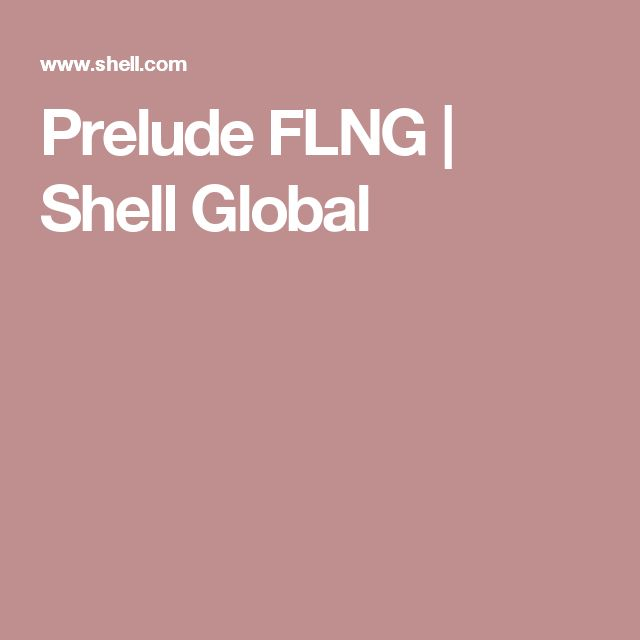 Prelude FLNG | Shell Global