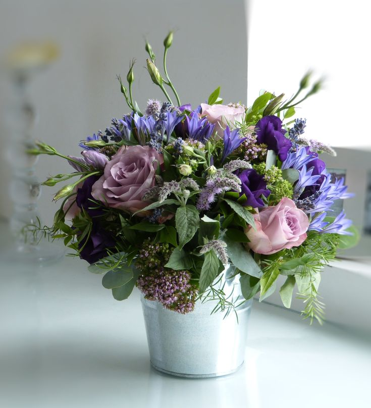 lilac hue garden flower and herb