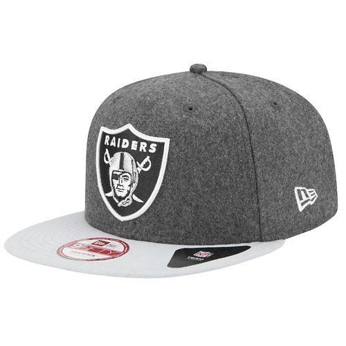 Oakland Raiders hat - New Era NFL 9Fifty Classic Redux Snapback - Men's - Foot Locker