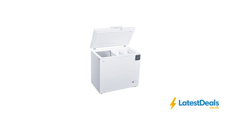 LOGIK 199ltr Chest Freezer - White Free Delivery, £139.99 at Currys PC World