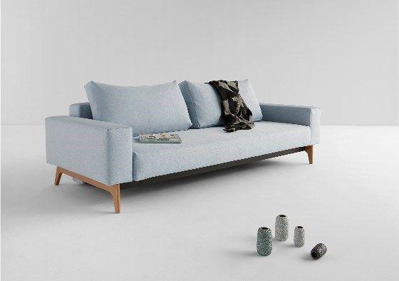 Sofa rozkładanaIDUN Nowoczesna, minimalistyczna w typowo skandynawskim stylu sofa z podłokietnikami i funkcją spania. Sofa IDUNto drugi obok sofy TRYM sztandarowy produkt duńskiej marki Innovation.  ...