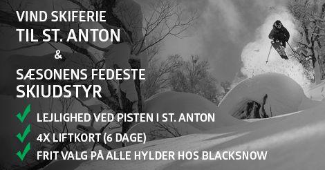 Vind En Skiferie Til St. Anton & Skiudstyr For 4 Personer - ikke dårligt nej