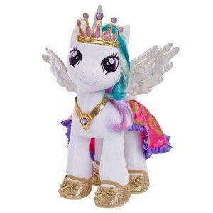 My Little Pony fans can build their own Princess Celestia with the Build-A-Bear My Little Pony Princess Celestia.