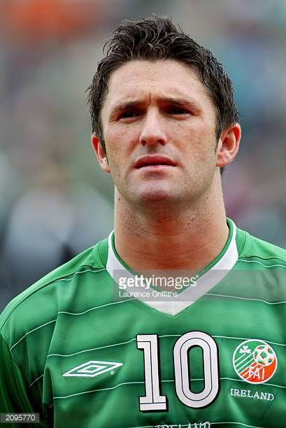 Portrait of Robbie Keane of the Republic of Ireland taken before the UEFA European Championships 2004 Group 10 Qualifying match between Republic of...