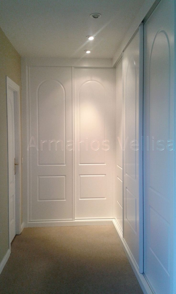 1000 ideas about armarios con puertas correderas on pinterest closet space tarima flotante - Armario empotrado blanco ...