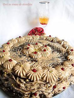 Tort cu crema de ciocolata si cafea- Tort Francisc   Retete Culinare - Bucataresele Vesele