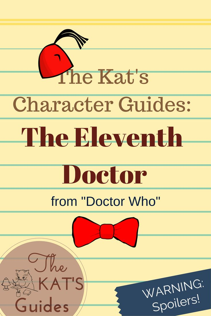 Let's take a look back at the Doctor who made bow ties & fezzes cool again-The Eleventh Doctor!